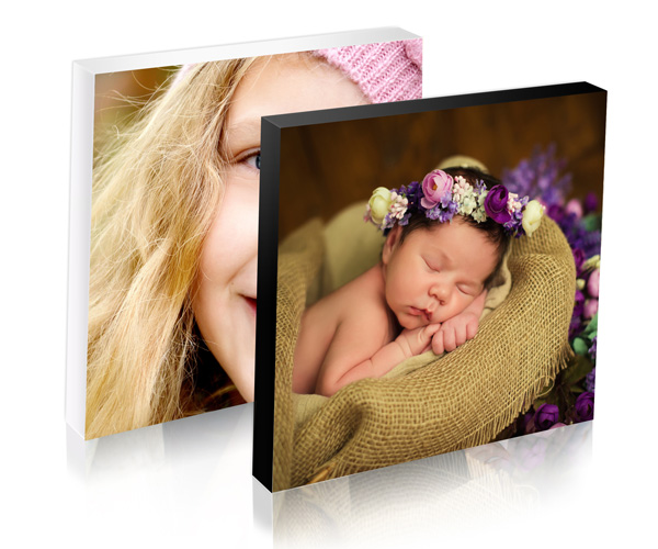colour edged photo block rear hanging brackets