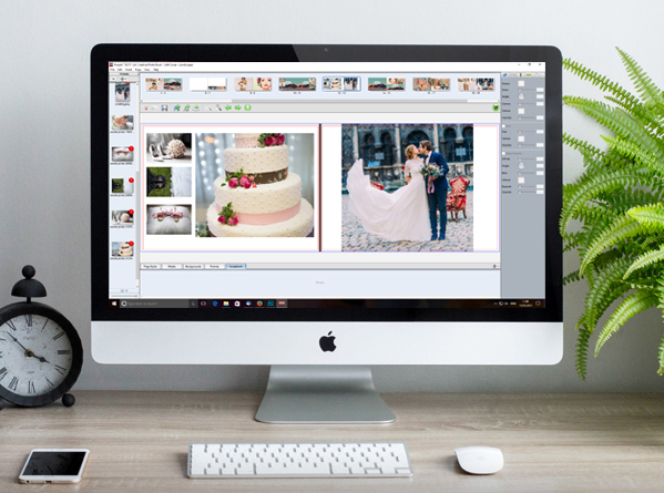 Photo album design services