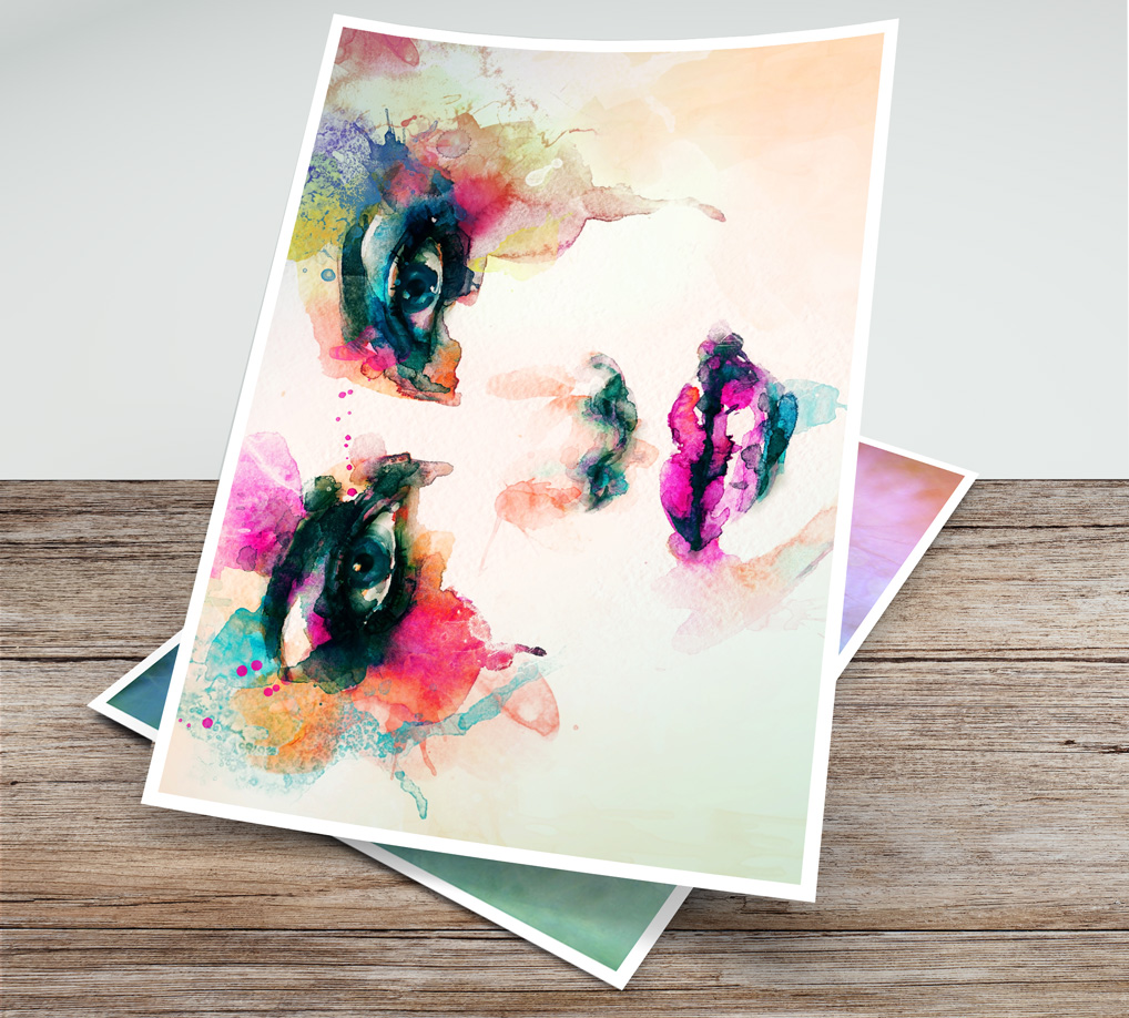 Print illustrations with Fine Art Giclee