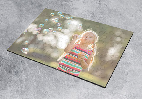 Create your own photo jigsaw gifts