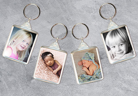 Create a photo keyring the perfect gift
