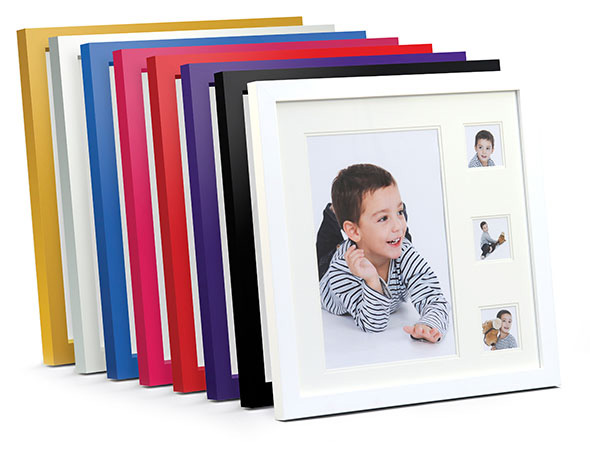 Multi frame in an easy carry presentation case