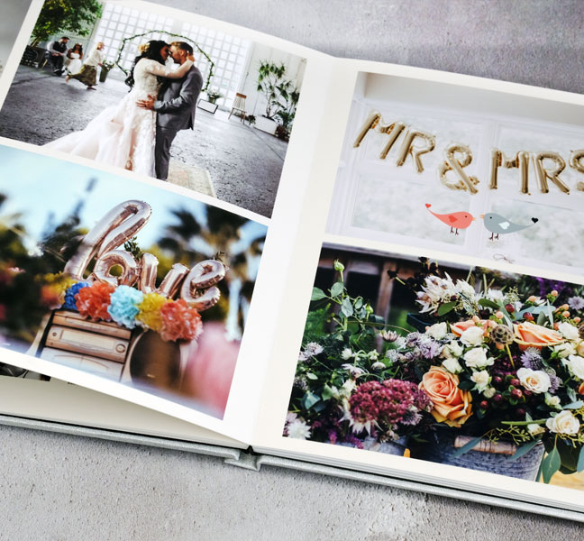 Love Wedding Album inside pages