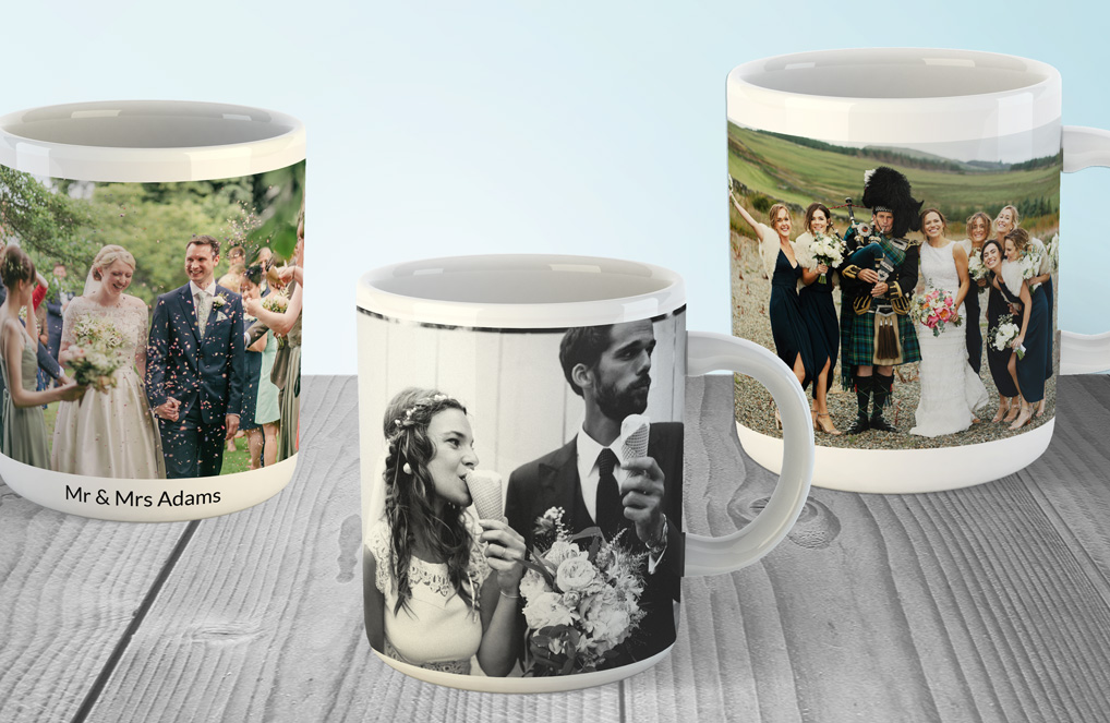 Create your own photo mug gifts