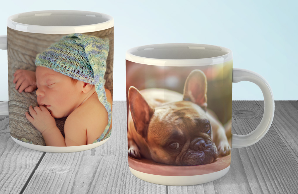 Create photo mugs online
