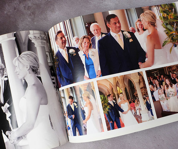 Personalise your professional photo book and chose from hard or soft covers
