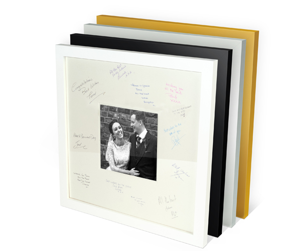 Signing Frame for Weddings and Events